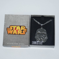 Star Wars Stainless Steel Necklace - Storm Trooper