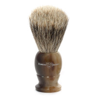 Edwin Jagger Best Badger Light Horn Medium Shaving Brush