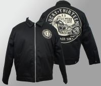 Lucky 13 Jacket - Black Sin