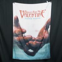 Bullet For My Valentine Textile Flag Poster - Temper Temper