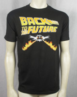 Back To The Future T-Shirt - Flaming Delorean