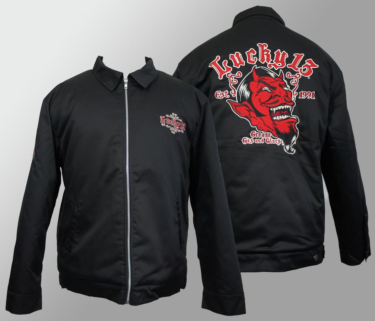 27d47d0da24 Lucky 13 Jacket - Grease Gas   Glory. Price   104.00.  http   d3d71ba2asa5oz.cloudfront.net 12013655 images lm9085gg-