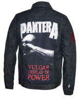 Pantera Vulgar Display of Power Denim Jacket