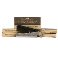 Don Juan Limited Edition Fine Tooth Folding Pocket Comb