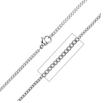 Stainless Steel Diamond Style Cut Necklace
