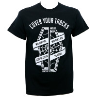 Cover Your Tracks Coffin T-Shirt