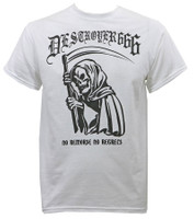 Destroyer 666 No Remorse T-Shirt White