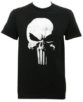Daredevil Punisher Logo Slim Fit T-Shirt