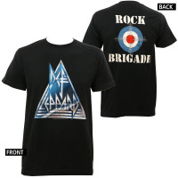 Def Leppard Rock Brigade Slim-Fit T-Shirt