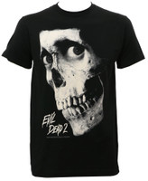 Evil Dead 2 Black and White Movie Poster T-Shirt