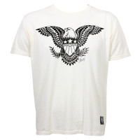 Sailor Jerry Bars Stars and Eagle Slim Fit T-Shirt White