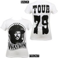Waylon Jennings Junior's '79 Tour T-Shirt White
