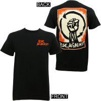 Rise Against Heartfist Poster Slim-Fit T-Shirt Black