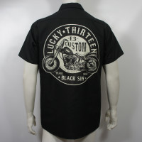 Lucky 13 Workshirt - Black Sin