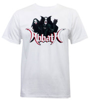 Abbath Band Photo T-Shirt White
