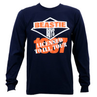 Beastie Boys Licensed To Ill 1987 Tour Long Sleeve T-Shirt