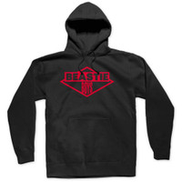 Beastie Boys Red Ink Logo Slim-Fit Pullover Hoodie