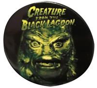 "Universal Monsters Creature Head 1"" Punk Pin"