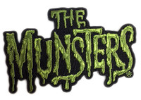 Universal Monsters The Munsters Logo Embroidered Patch