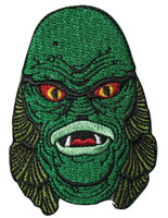 Universal Monsters Creature Head Patch