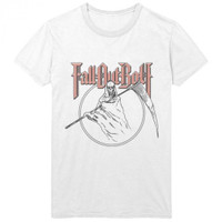Fall Out Boy Reaper Slim Fit T-Shirt White