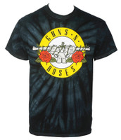 Guns N Roses Simple Bullet Spider Tie Dye T-Shirt