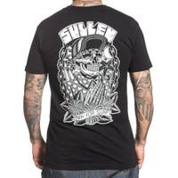 Sullen Pray for Surf Choloha Capsule T-Shirt Black