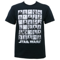 Star Wars Photoshoot T-Shirt Black