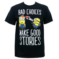Despicable Me Minions Bad Choices T-Shirt