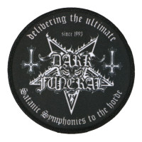 Dark Funeral Symphonies Circle Woven Patch