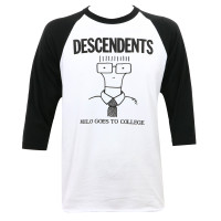 Descendents Milo Goes To College Raglan T-Shirt