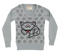 Big Bang Theory Knit Sweater Girls - Soft Kitty