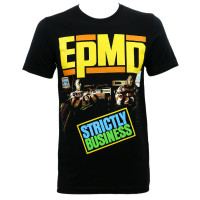 EPMD Strictly Business Album Cover Slim Fit T-Shirt