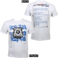 Cheap Trick Dream Police Slim Fit T-Shirt White
