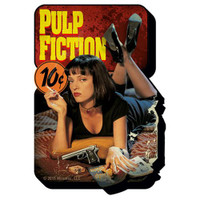 "PULP FICTION One Sheet Funky Chunky 4"" x 3"" Magnet"
