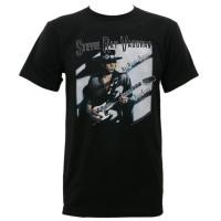 Stevie Ray Vaughan Texas Flood Album Cover Slim Fit T-Shirt