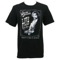 Waylon Jennings Live In Concert Texas Hall Slim-Fit T-Shirt