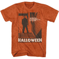 Halloween Stairs 2 39th Anniversary T-Shirt Antique Orange