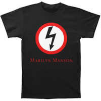 Marilyn Manson Classic Bolt Slim-Fit T-Shirt