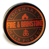 Lockhart's Fire and Brimstone Medium Hold Hair Pomade 4oz