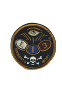 LUCKY 13 Dead Eye Biker Embroidered Sew On Or Glue On Patch