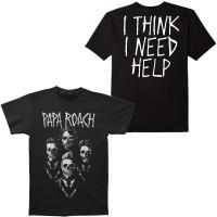 Papa Roach I Think I Need Help Portrait Slim-Fit T-Shirt