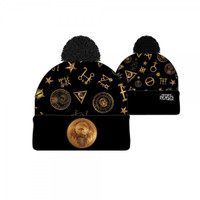 Fantastic Beasts And Where To Find Them Macusa Cuff Pom Beanie Hat
