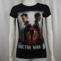 Doctor Who Juniors Day Of The Doctor Movie Poster T-Shirt