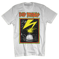 Bad Brains Capitol T-Shirt White
