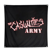 The Casualties Army Fabric Poster Flag