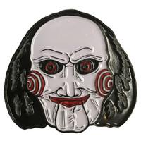 SAW Movie Billy Puppet Enamel Pin