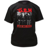 Charged GBH Give Me Fire T-Shirt Black