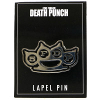 Five Finger Death Punch Knuckles Lapel Pin