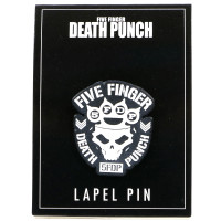 Five Finger Death Punch Logo Lapel Pin